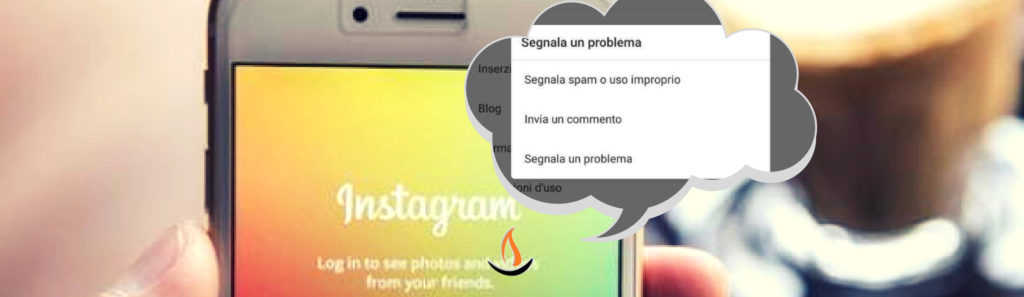 allarme segnalazioni su instagram